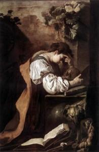 Melancolia, Domenico Feti, 1620.